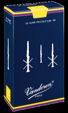 Vandoren Traditional Piccolo-Klarinet Rieten